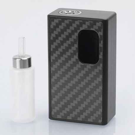 YFTK SVA Punto Zero Style BF Squonk Mechanical Box Mod - Black, 1 x 18650