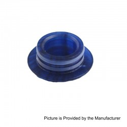 510 Drip Tip Adapter for TFV8 / TFV8 Big Baby / TFV12 Tank Atomizer - Blue, Epoxy Resin