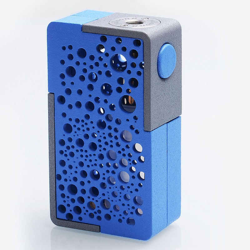 Authentic YiLoong SQ XBOX MOD-04 Blue 3D Printed Squonk Mech Mod