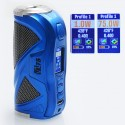 Authentic Hcigar VT75 Color 75W TC VW Variable Wattage Box Mod - Blue, 1~75W, 1 x 18650 / 26650, Evolv DNA 75C
