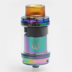 Authentic Vandy Vape GOVAD RTA Rebuildable Tank Atomizer - 7 Color, Stainless Steel + Pyrex Glass, 4ml, 24mm Diameter