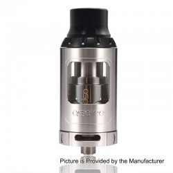 Authentic Aspire Athos Sub Ohm Tank Atomizer - Silver, 4ml, 25mm Diameter, Standard Version
