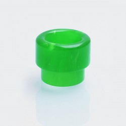 810 Drip Tip for 528 Goon / Goon LP RDA / Kennedy 24 / 25 RDA / Battle RDA - Green, Resin, 13mm