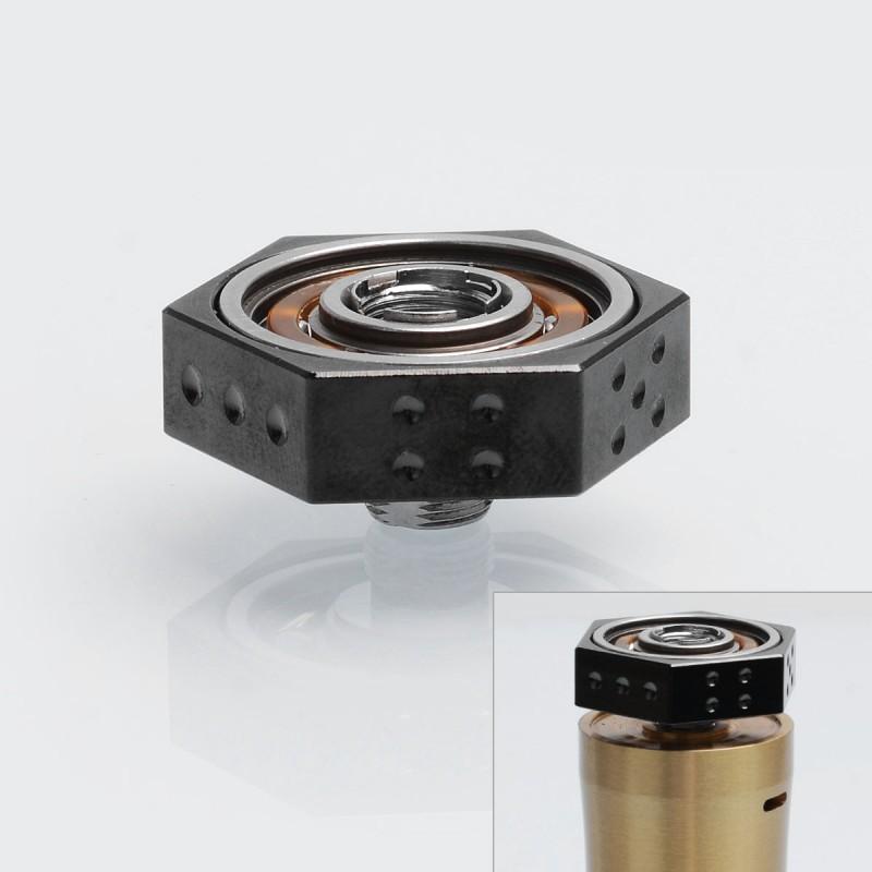 authentic iwodevape black ss 608 bearing 510 vape spinner fidget toy