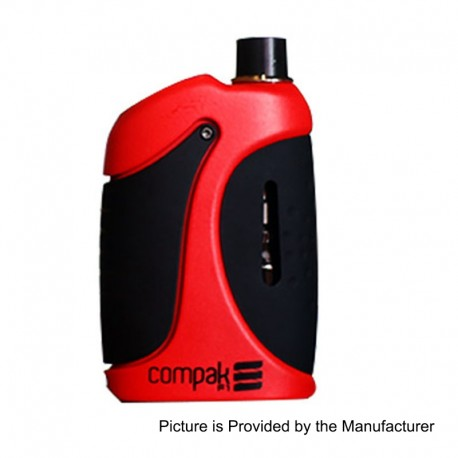 Authentic Sigelei Compak F1 40W 2000mAh All-in-One Mod Kit - Red, Zinc Alloy, 24~40W, 2ml