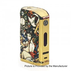 Authentic Asvape Michael 200W VO200 TC VW Variable Wattage Box Mod - Multicolor, 5~200W, 2 x 18650, Devils Night Edition
