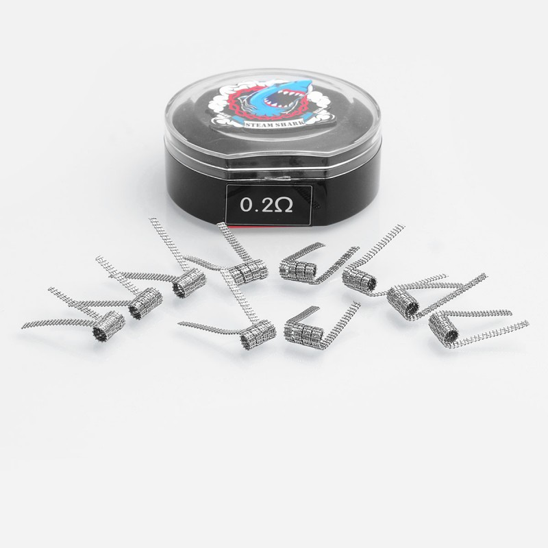 Authentic Vapethink Kanthal A1 Staple Framed Twisted 0.2Ohm Coil Wire