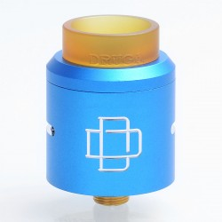 Authentic Augvape Druga RDA Rebuildable Dripping Atomizer w/ BF Pin - Blue, Stainless Steel, 24mm Diameter