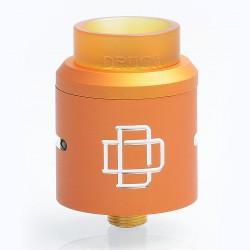 Authentic Augvape Druga RDA Rebuildable Dripping Atomizer w/ BF Pin - Orange, Stainless Steel, 24mm Diameter