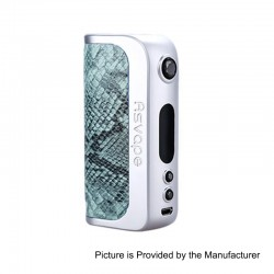 Authentic Asvape Strider 75W TC VW Variable Wattage Box Mod - Snakeskin, 5~75W, 1 x 18650 / 26650, VO 75 Chip