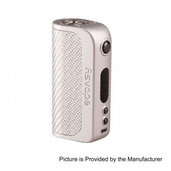 Authentic Asvape Strider 75W TC VW Variable Wattage Box Mod - Silver, 5~75W, 1 x 18650 / 26650, VO 75 Chip