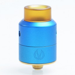 Authentic Vandy Vape Pulse 22 BF RDA Rebuildable Dripping Atomizer - Blue, Stainless Steel, 22mm Diameter