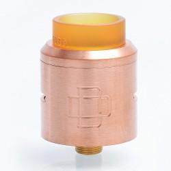Authentic Augvape Druga RDA Rebuildable Dripping Atomizer w/ BF Pin - Copper, Copper, 24mm Diameter