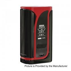Authentic Eleaf iKunn i200 200W 4600mAh TC VW Variable Wattage Box Mod - Red, 1~200W, 100~315'C / 200~600'F