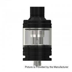Authentic Eleaf MELO 4 Sub Ohm Tank Atomizer - Black, Stainless Steel, 2ml, 22mm Diameter