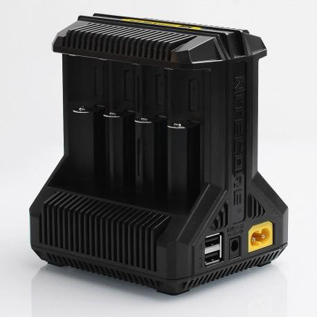 Authentic Nitecore i8 Intellicharger Multi-slot Intelligent Battery Charger - 8 x Battery Slots, EU Plug