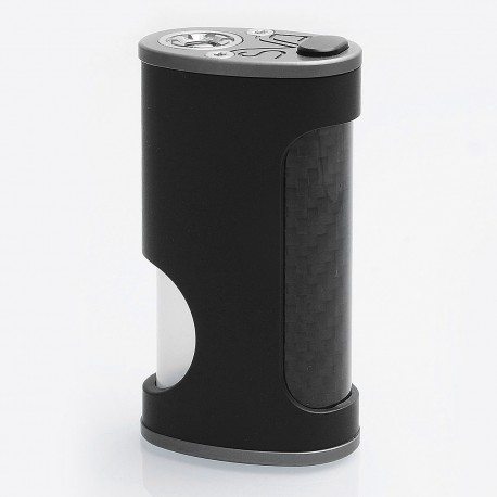 YFTK SVA Kimech Style BF Squonk Mechanical Mod - Black, Nylon + Carbon Fiber, 7ml Built-in Bottle, 1 x 18650