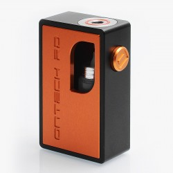 Icarus 1.5 Style BF Squonk Mechanical Box Mod - Orange, Aluminum, 8ml, 1 x 18650