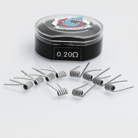 Authentic Vapethink Sweep V1 Ni80 Pre-built Coil Heating Wire - 26GA x 3 + 38GA, 0.2 Ohm (10 PCS)