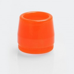 Replacement Drip Tip for Taifun BT Style Tank Atomizer - Orange, Resin, 16mm