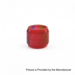 Replacement Tank Sleeve Tube for Wotofo The Troll RTA - Red, Epoxy Resin