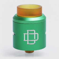 Authentic Augvape Druga RDA Rebuildable Dripping Atomizer w/ BF Pin - Green, Stainless Steel, 24mm Diameter