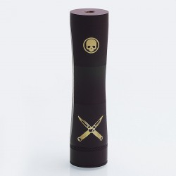 Cutthroat Edition Consvr Style Mechanical Mod - Brown, Brass, 1 x 18650