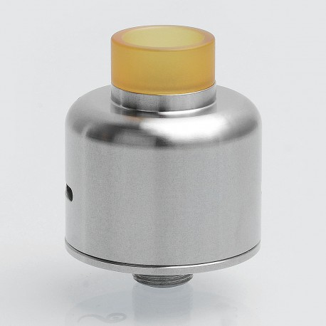 SXK Soul S Style RDA Rebuildable Dripping Atomizer w/ BF Pin - Silver, 316 Stainless Steel, 22mm