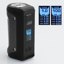 Authentic GeekVape AEGIS 100W Water-proof TC VW Variable Wattage Box Mod - Gun Metal, 1~100W, 1 x 18650 / 26650