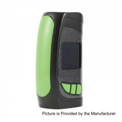 Authentic Pioneer4You IPV Eclipse 200W TC VW Variable Wattage Box Mod - Green, 5~200W, 2 x 18650