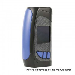 Authentic Pioneer4You IPV Eclipse 200W TC VW Variable Wattage Box Mod - Blue, 5~200W, 2 x 18650