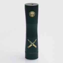 Cutthroat Edition Consvr Style Mechanical Mod - Army Green, Brass, 1 x 18650