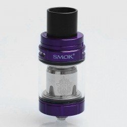 Authentic SMOKTech SMOK TFV8 X-Baby Sub Ohm Tank Atomizer - Purple, Stainless Steel, 4ml, 24.5mm Diameter, Standard Version