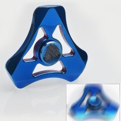 Authentic Magic Shark Soul Eater Hand Spinner Fidget Toy EDC - Blue, Stainless Steel, R188 Bearing