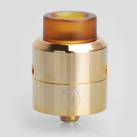 Authentic Vandy Vape Pulse 24 BF RDA Rebuildable Dripping Atomizer w/ BF Pin - Gold, Stainless Steel, 24.4mm Diameter