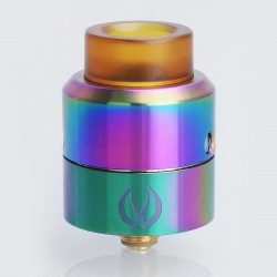 Authentic Vandy Vape Pulse 24 BF RDA Rebuildable Dripping Atomizer w/ BF Pin - Rainbow, Stainless Steel, 24.4mm Diameter