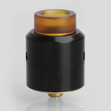 Authentic Vandy Vape Pulse 24 BF RDA Rebuildable Dripping Atomizer w/ BF Pin - Black, Stainless Steel, 24.4mm Diameter