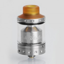 Authentic Wotofo Viper RTA Rebuildable Tank Atomizer - Silver, Stainless Steel, 3ml, 24mm Diameter
