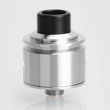 SXK Le Concorde RDA Rebuildable Dripping Atomizer w/ BF Pin - Silver, 316 Stainless Steel, 22mm Diameter