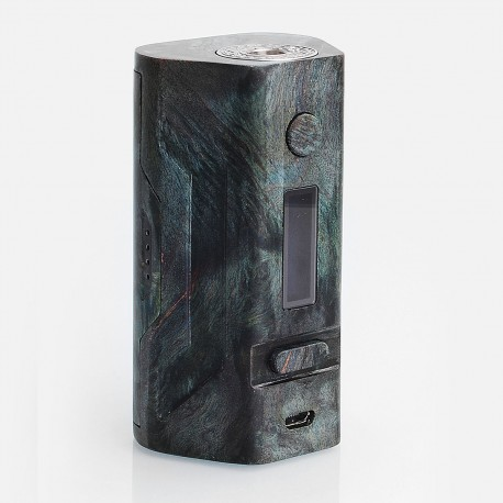 Authentic Smoant Battlestar MU 200W TC VW Variable Wattage Box Mod - Green, Stable Wood, 1~200W, 2 x 18650