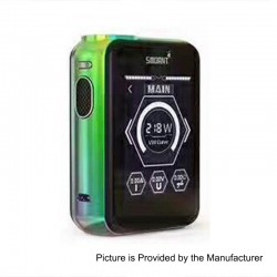 Authentic Smoant Charon TS 218 Touch Screen TC VW Variable Wattage Box Mod - Rainbow, 1~218W, 2 x 18650
