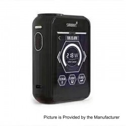 Authentic Smoant Charon TS 218 Touch Screen TC VW Variable Wattage Box Mod - Black, 1~218W, 2 x 18650