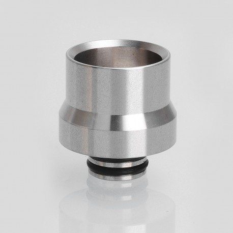 Coppervape Replacement 510 Drip Tip for Taifun GT II Air Tank Atomizer - Silver, 316 Stainless Steel, 18mm