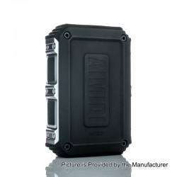 Authentic AIMIDI Tank T2 160W Waterproof TC VW Variable Wattage Box Mod - Black, 7~160W, 2 x 18650