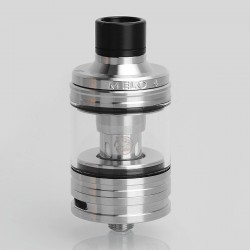 Authentic Eleaf MELO 4 Sub Ohm Tank Atomizer - Silver, Stainless Steel, 4.5ml, 25mm Diameter