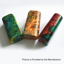 Authentic Yiloong Fog Box 75W 3000mAh TC VW Variable Wattage Box Mod - Random Color, Stabilized Wood, 1~75W, DNA75C Chip