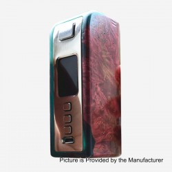 Authentic Yiloong Fog Box 75W 3000mAh TC VW Variable Wattage Box Mod - Random Color, Stabilized Wood, 1~75W, DNA75W Chip