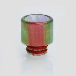 510 Translucent Drip Tip for TFV8 Baby Sub Ohm Tank - Green, Epoxy Resin, 15.4mm