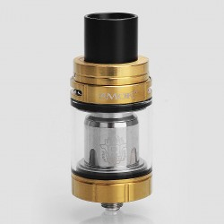 Authentic SMOKTech SMOK TFV8 X-Baby Sub Ohm Tank Atomizer - Gold, Stainless Steel, 4ml, 24.5mm Diameter, Standard Version
