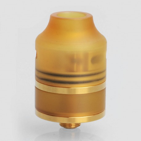 Authentic Oumier WASP Nano RDTA Rebuildable Dripping Tank Atomizer - Gold, Stainless Steel, 2ml, 22mm Diameter